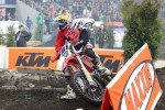 David KNIGHT (GB - Honda) felt already very comfortable with his 450cc CRF during his first race in Poland!