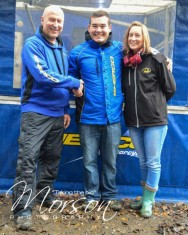 Tom Sagar with Sherco Team