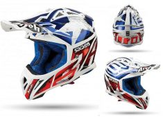 Airoh helm Aviator 2-3 SIX DAYS CHROME