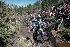 Thousands line the rocky riverbeds to watch the racing - © Future7Media