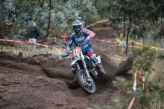 Will Ruprecht (TM) charged to the EnduroGP class win on day two, his first ever senior class day win. © Future7 Media