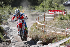Coming out on top of an epic battle for EnduroGP class victory, Brad Freeman (Beta) was the big winner on day one © Future7 Media