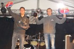 MGT trophy – Hans Vogels (links) wint de scratch inters en Johnny Bosmans die van de nationalen