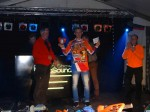 Rooky winnaar Thierry Pittens
