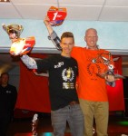 Scratch bokalen – Kevin Dijk wint de scratch Nationaal en Mark Wassink bij de inters